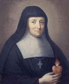 St. Jane Frances de Chantal, founded the Visitation order for women who were rejected by other orders because of poor health or age.