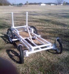 PVC pipe buggy