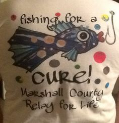 Fishing For A Cure t-shirt 2014