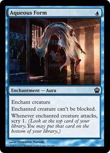Vaporkin X4  NM Theros MTG Magic Cards Blue Common
