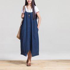 2016-Two-font-b-Wear-b-font-Sexy-Sling-Sagging-Pants-Denim-Female-Summer-Dress-Girl.jpg (400×400)