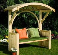 Woodworking For Beginners Pallets 45 Garden Arbor Bench Design Ideas & DIY Kits You Can Build Over Weekend.Woodworking For Beginners Pallets 45 Garden Arbor Bench Design Ideas & DIY Kits You Can Build Over Weekend Garden Arbor, Diy Garden, Garden Care, Garden Ideas, Garden Benches, Outdoor Benches, Garden Seating, Garden Bridge, Arbor Bench