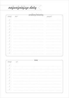 Calendar Organization, Diy Organization, School Survival Kits, Free Prints, Free Printables, Back To School, Diy And Crafts, Bullet Journal, Notes