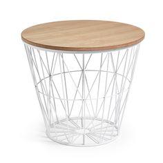 Des tables d'appoint modernes | Une table d'appoint design | #salon, #décoration, #luxe | Plus de nouveautés sur http://magasinsdeco.fr/des-tables-dappoint-modernes/