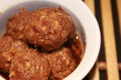 "Easiest Party Meatballs: ""Your guests will flip over these meatballs that are so easy, you'll feel positively GUILTY for all the compliments you'll get!"" -Elle Woods Can Cook"