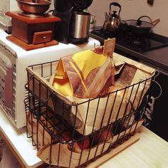 ②野菜を見せて収納する Live Life Love, Daiso, Hamper, Kitchenware, Interior Design, Food, Home Decor, Storage Ideas, Lifestyle