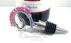 Wine + Chocolate + Flowers = LOVE with the EPSTeam! by ThirdShift on Etsy
