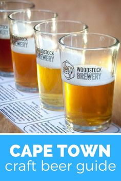 A craft beer guide to Cape Town. Visit craft breweries and taste the best craft beer in Cape Town Visit South Africa, V&a Waterfront, Best Craft Beers, Pubs And Restaurants, Port Elizabeth, Beer Tasting, The V&a, Ginger Beer, Africa Travel