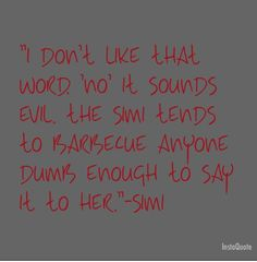 "Sherrilyn Kenyon ""Dance with the Devil Simi quote"