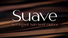 Suave Free Sans Serif Didone Font