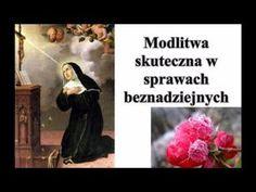 Bardzo skuteczna Modlitwa do Świętej Rity w sprawach beznadziejnych - YouTube Faith, Youtube, God, Movie Posters, Life, Sissi, Bible, Thinking About You, Prayers