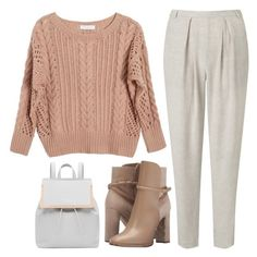 """""""Saturday Night Out"""" by sweet-jolly-looks ❤ liked on Polyvore featuring Ryan Roche, John Lewis, Burberry, Ted Baker, Fall, casual, saturday, outdoors and zappos"""