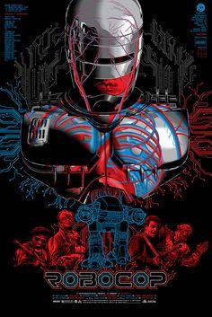 RoboCop Poster Release By Skuzzles