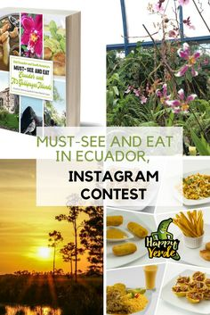 Enter to win a FREE Ebook - Must-see and Eat - Ecuador and Its Galapagos Islands and other wonderful prizes This contest is brought to you by the E . South America, Latin America, Just Dream, Galapagos Islands, Enter To Win, Africa Travel, Plan Your Trip, Foodie Travel, Ecuador