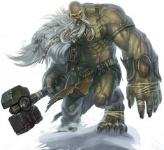 Jaagroth the Hammer, a powerful Ogre leader and head of the Arch Demon's forces at the ruins of Fort Rannick. Defeated by the heroes of the Night Watch.