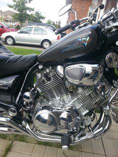 1992 Yamaha Virago XV1100 Right Side Engine