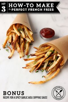 How to make the perfect *baked* french fry / Tasty Yummies