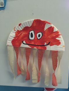 Octopus toddler craft for our under the sea theme ocean animal crafts, octo Ocean Animal Crafts, Octopus Crafts, Fish Crafts, Baby Crafts, Toddler Crafts, Crafts For Kids, Summer Preschool Activities, Infant Activities, Preschool Crafts