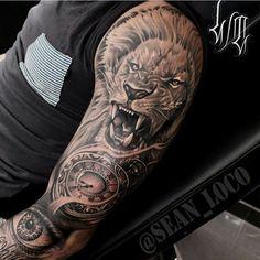 "3,044 curtidas, 29 comentários - Tattoo Media Ink (@skinart_mag) no Instagram: ""Tattoo work by: @sean_loco!!!) #skinartmag #tattoorevuemag #supportgoodtattooing…"""