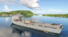 HMAS Choules home after month in the Pacific