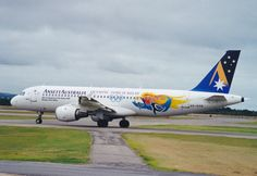 "Ansett A320 ""Olympic torch Relay"" livery (VH-HYN)"