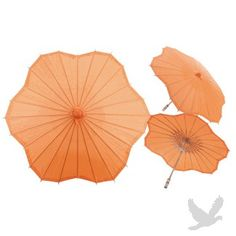 32 Orange Tangerine Scalloped Shaped Paper Parasol Scalloped Parasol] : Wholesale Wedding Supplies, Discount Wedding Favors, Party Favors, and Bulk Event Supplies Orange Party, Orange Wedding, Wedding Colors, Summer Wedding, Diy Wedding Supplies, Diy Party Supplies, Wedding Ideas, Wedding Inspiration, Wedding Wholesale