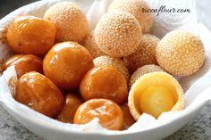Let's learn how to make sesame rice balls and caramel-coated rice balls. In this recipe for these popular Vietnamese snacks, I will share all the tips...