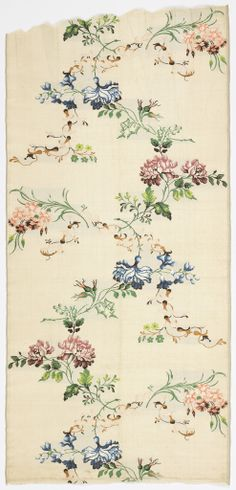 Textile, 1740s. https://collection.cooperhewitt.org/objects/18797703/