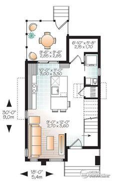 intrieur dune micro maison de style moderne rustique deux tages visite virtuelle
