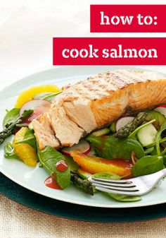 How To: Cook Salmon – Great how-to tips from the Kraft Kitchens on how to cook salmon.