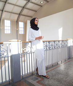 Inayahc | Ivory Tailored Maxi Shirt Fashion Wear, Modest Fashion, Unique Fashion, Hijab Fashion, Fashion Outfits, Fashion Trends, Hijab Collection, Hijab Pins, Maxi Shirts