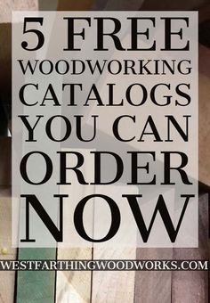 5 Free Woodworking Catalogs You Can Order Now Wood Crafts woodworking crafts Woodworking Books, Woodworking Patterns, Easy Woodworking Projects, Woodworking Furniture, Fine Woodworking, Diy Wood Projects, Wood Crafts, Wood Furniture, Woodworking Basics