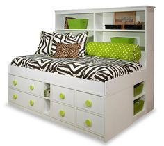 Find the best Storage Bed or Captains Bed for rooms needing more floor space. A bed frame with storage gives you drawers under the bed for kids, teens or adults. Girl Room, Girls Bedroom, Bedroom Ideas, Kid Bedrooms, Bed Ideas, Bedroom Designs, Dream Bedroom, Bedroom Decor, Twin Captains Bed