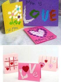výroba přání ke dni matek Mothers Day Crafts, Mom, Image, Mothers