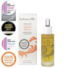 Balance Me  Radiance Face Oil (30ml)