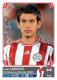 168 Luis Cardozo - Paraguay - Copa America - Chile 2015