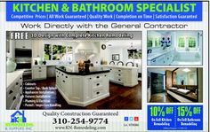 Bathroom remodeling in Los Angeles and woodland hills by kn remodeling www.kn-remodeling.com (877)9923490
