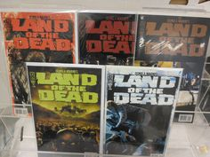 LAND OF THE DEAD Full Set 1 2 3 4 5 IDW COMICS George Romero ZOMBIE DEAD VF NM in Collectibles | eBay