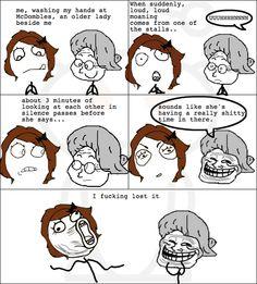 Rage Comic...language. Teehee