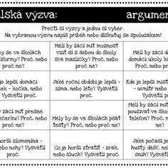 Pisatelská výzva #český #jazyk #českýjazyk #psaní #čtení #sloh #tvůrčípsaní #tvůrčí #psaní #kreativnípsaní #kreativní #psaní #čeština Projects To Try, Bullet Journal, Teaching, Education, Literatura, Onderwijs, Learning, Tutorials
