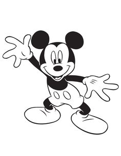 silly mickey mouse coloring page hm coloring pages