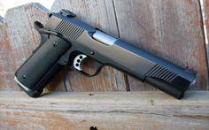 пистолет, m1911, кольт, 1911, кастом, воронённый, colt, caspian arms ltd