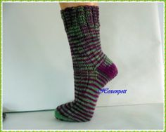 Socken handgefärbt Evaline Gr.39-40 von Hexenpott auf DaWanda.com
