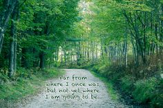 Path, Woods, Motivation, Green, Road - Original Photograph # 5857 by…