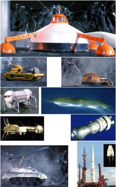 Captain Scarlet other space vehicles
