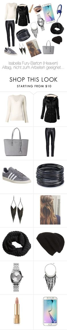 """""""Avengers: Revolution"""" by suleikasilverstarff ❤ liked on Polyvore featuring Chloé, Michael Kors, Yves Saint Laurent, adidas, ABS by Allen Schwartz, GUESS, H&M, Phase 3, Nixon and The Sak"""