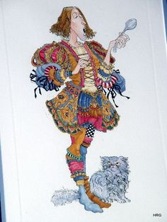 James Christensen - Tommy Tucker Etching