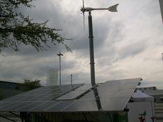 Hybrid Power Plant, PV-Solar Thermal-Wind-Biodiesel Generator