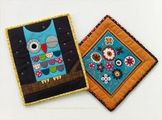 Love the owl quilt
