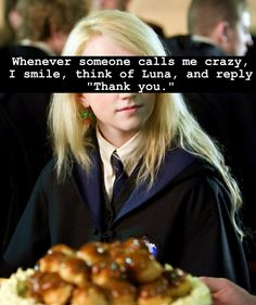 Think of Luna and smile.